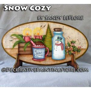 Snow Cozy ePattern - Sandy LeFlore - PDF DOWNLOAD