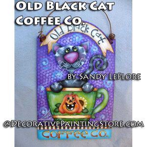 Old Black Cat Coffee Co ePattern - Sandy LeFlore - PDF DOWNLOAD