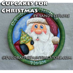 Cupcakes for Christmas ePattern - Sandy LeFlore - PDF DOWNLOAD