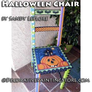 Halloween Chair ePattern - Sandy LeFlore - PDF DOWNLOAD