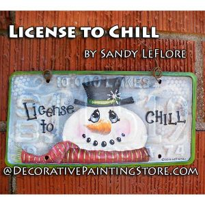 License to Chill ePattern - Sandy LeFlore - PDF DOWNLOAD
