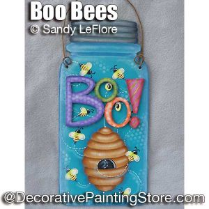 Boo Bees ePattern - Sandy LeFlore - PDF DOWNLOAD