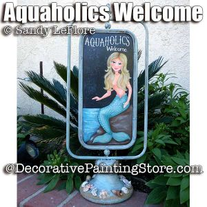 Aquaholics Welcome ePattern - Sandy LeFlore - PDF DOWNLOAD