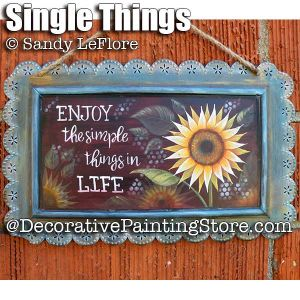 Simple Things ePattern - Sandy LeFlore - PDF DOWNLOAD