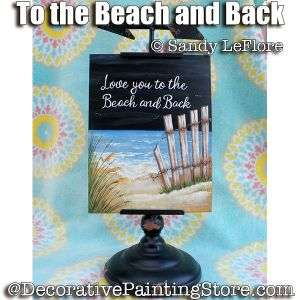 To the Beach and Back ePattern - Sandy LeFlore - PDF DOWNLOAD
