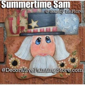 Summer Sam ePattern - Sandy LeFlore - PDF DOWNLOAD