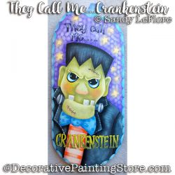 They Call Me Crankenstein ePattern - Sandy LeFlore - PDF DOWNLOAD