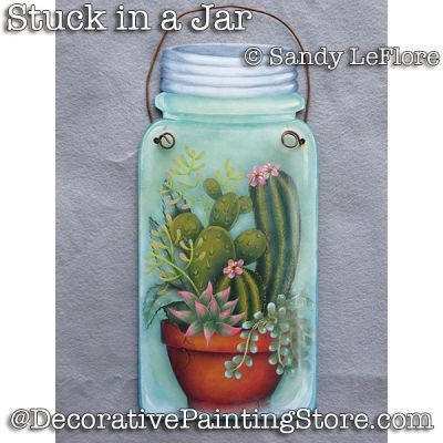 Stuck in a Jar ePattern - Sandy LeFlore - PDF DOWNLOAD