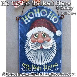 Ho Ho Ho Spoken Here DOWNLOAD - Sandy LeFlore