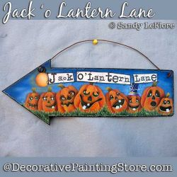 Jack o Lantern Lane Arrow DOWNLOAD - Sandy LeFlore