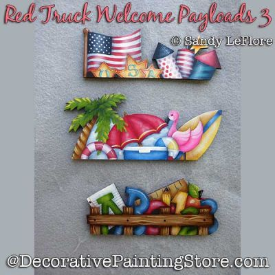 Red Truck Welcome Payloads 3 DOWNLOAD - Sandy LeFlore