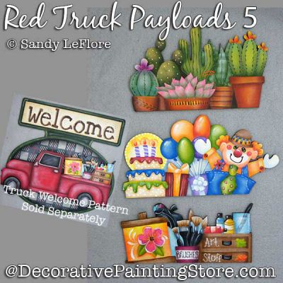 Red Truck Welcome Payloads 5 DOWNLOAD - Sandy LeFlore