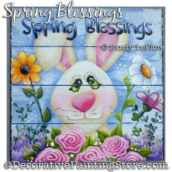 Spring Blessings Sign DOWNLOAD - Sandy LeFlore