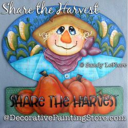 Share the Harvest Painting Pattern PDF DOWNLOAD - Sandy LeFlore