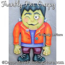Frankly Im Creepy (Frankenstein) Painting Pattern PDF DOWNLOAD - Sandy LeFlore
