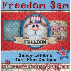 Freedom Sam Painting Pattern PDF DOWNLOAD - Sandy LeFlore