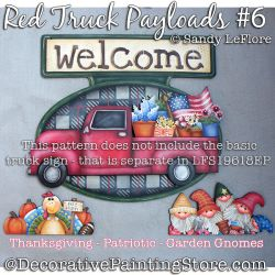 Red Truck Welcome Payloads 6 DOWNLOAD - Sandy LeFlore