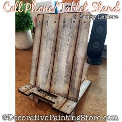 Cell Phone / Tablet Stand Painting Pattern PDF DOWNLOAD - Sandy LeFlore