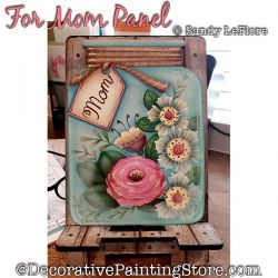 For Mom Panel Painting Pattern PDF DOWNLOAD - Sandy LeFlore