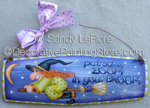 Put Some Zoom in Your Broom ePattern - Sandy LeFlore - PDF DOWNLOAD