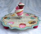 Valentine Cupcake Plate ePattern - Sandy LeFlore - PDF DOWNLOAD