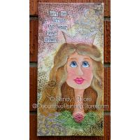 Wear Your Crown - Mixed Media ePattern - Sandy LeFlore - PDF DOWNLOAD