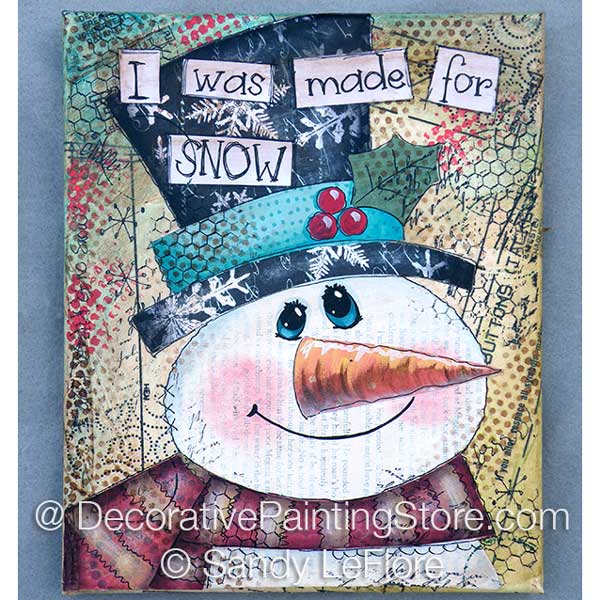 Made for SNOW ePattern - Sandy LeFlore - PDF DOWNLOAD