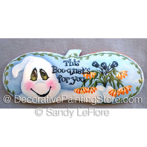 Boo-quet- Mixed Media ePattern - Sandy LeFlore - PDF DOWNLOAD