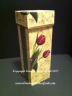 Tulip Wine Box Pattern - Lonna Lamb - PDF DOWNLOAD