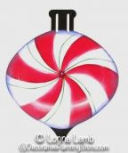 Peppermint Candy Ornament Pattern - Lonna Lamb - PDF DOWNLOAD