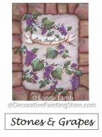 Stones and Grapes Pattern - Lonna Lamb - PDF DOWNLOAD