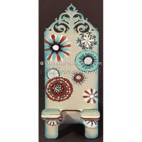 Funky Floral Phone Stand Pattern - Lonna Lamb - PDF DOWNLOAD