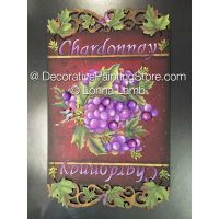 Chardonnay Pattern - Lonna Lamb - PDF DOWNLOAD