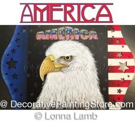 America Pattern - Lonna Lamb - PDF DOWNLOAD