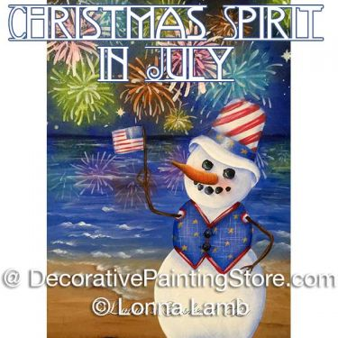 Christmas Spirit in July Pattern - Lonna Lamb - PDF DOWNLOAD