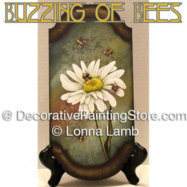 The Buzzing of the Bees Pattern - Lonna Lamb - PDF DOWNLOAD