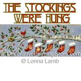 The Stockings Were Hung Pattern - Lonna Lamb - PDF DOWNLOAD