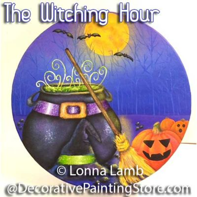 The Witching Hour Pattern - Lonna Lamb - PDF DOWNLOAD