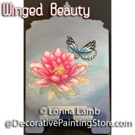 Winged Beauty Pattern - Lonna Lamb - PDF DOWNLOAD