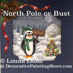 North Pole or Bust e-Pattern - Lonna Lamb - PDF DOWNLOAD