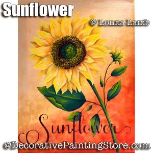 Sunflower e-Pattern - Lonna Lamb - PDF DOWNLOAD