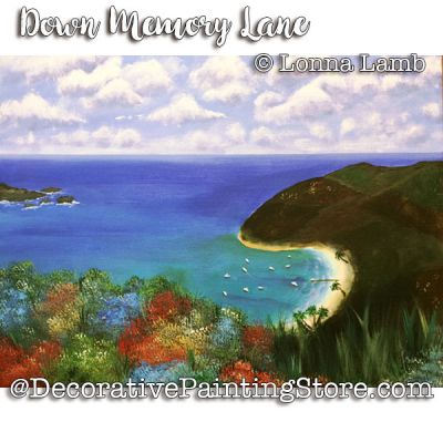 Down Memory Lane e-Pattern - Lonna Lamb - PDF DOWNLOAD