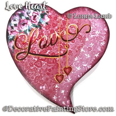 Love Heart e-Pattern - Lonna Lamb - PDF DOWNLOAD