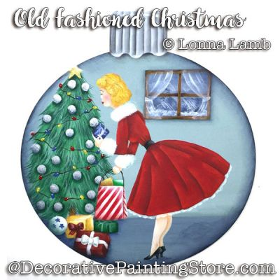 Old Fashioned Christmas e-Pattern - Lonna Lamb - PDF DOWNLOAD