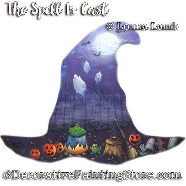 The Spell Is Cast e-Pattern - Lonna Lamb - PDF DOWNLOAD