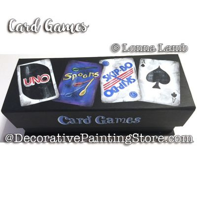 Card Games e-Pattern - Lonna Lamb - PDF DOWNLOAD