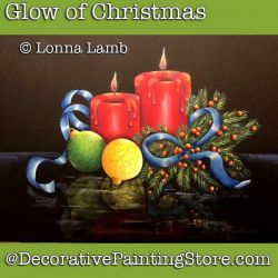Glow of Christmas DOWNLOAD Painting Pattern - Lonna Lamb