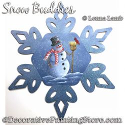 Snow Buddies DOWNLOAD Painting Pattern - Lonna Lamb