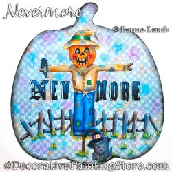 Nevermore (Scarecrow) DOWNLOAD Painting Pattern - Lonna Lamb
