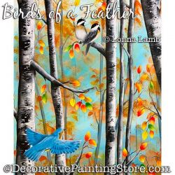 Birds of a Feather DOWNLOAD Painting Pattern - Lonna Lamb